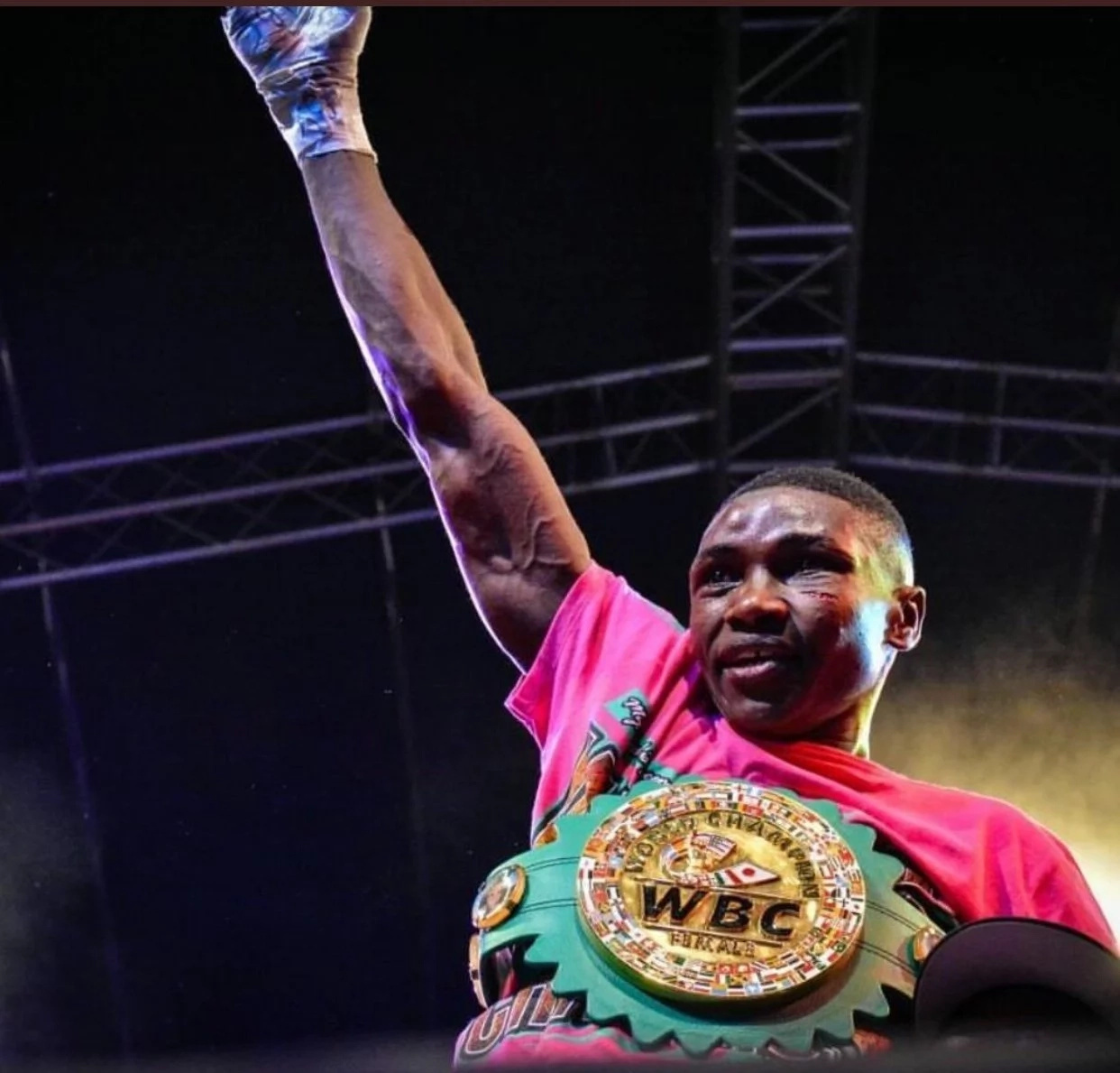 Kenya's top female boxer defends her title yet again