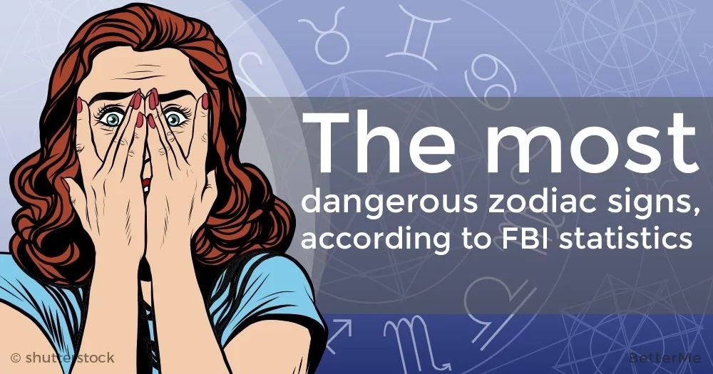 The most dangerous zodiac signs, according to FBI statistics
