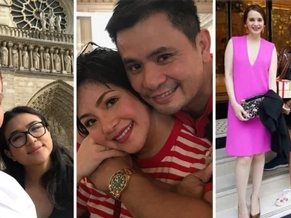 Daig pa Manila Film Fest! Vicki Belo and Hayden Kho's Paris wedding is star-studded and their celebrity guests have started arriving!