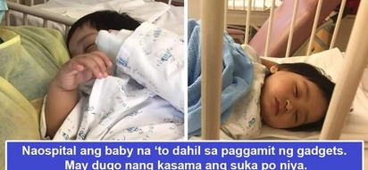 Naospital si baby dahil sa gadget! Mother shares horrifying experience when baby vomited with blood because of gadget radiation