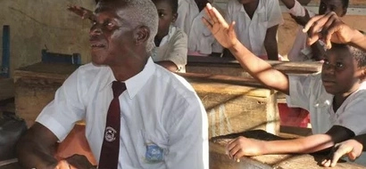 Why this 63 year-old grandfather, in Class 3 will sit for KCPE in November