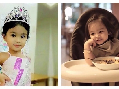 Instant Friendship! Baby Mela Francisco and Baby Zia Dantes became best friends