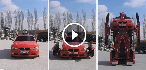 Ingenieros turcos acaban de crear Transformers que tu puedes manejar