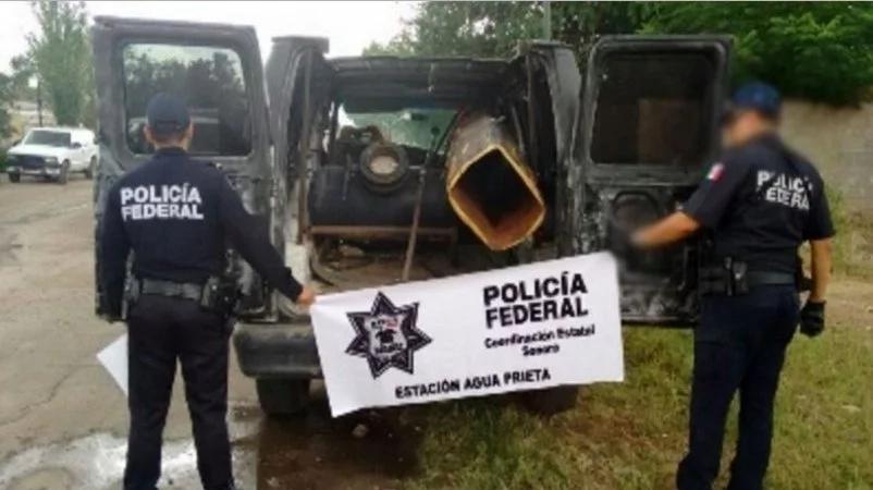 "Police find ""drug bazooka"" in van on the boarder"