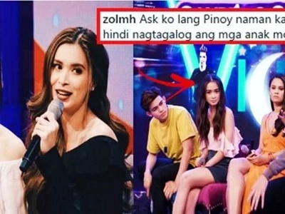 Netizens bashed Angelina Montano for being too shy and for speaking in English on GGV. Sunshine Cruz's response to her daughter's haters goes viral!