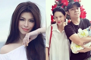 Chito Miranda and Neri Naig's baby looks exactly like Angel Locsin