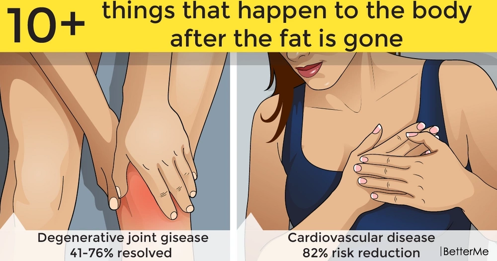 10+ things that happen to the body after the fat is gone