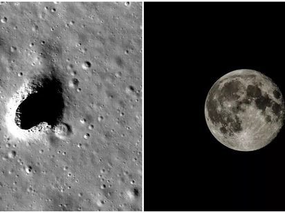 Incredible! Space scientists discover habitat on the moon that could sustain human life