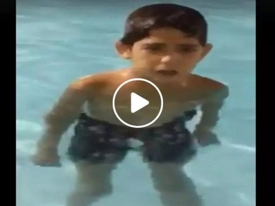 The best ito! Young Pinoy shockingly belts Aegis classic song 'Sayang na Sayang' while swimming in cold water
