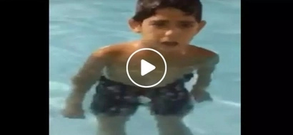 Young Pinoy shockingly belts Aegis classic song 'Sayang na Sayang' while swimming in cold water