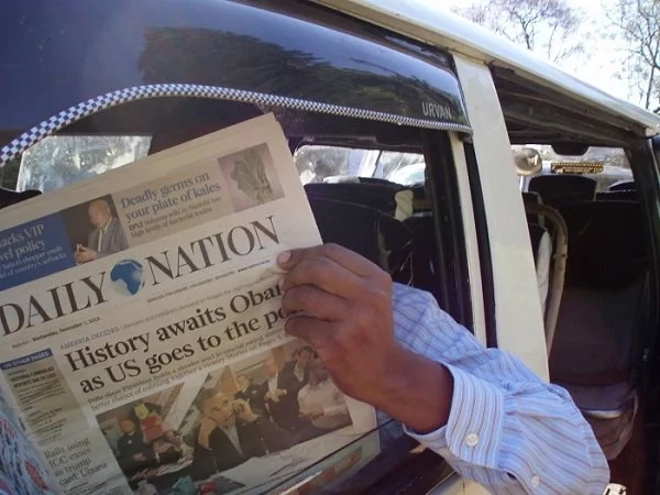 Corruption cartels advertise on Daily Nation
