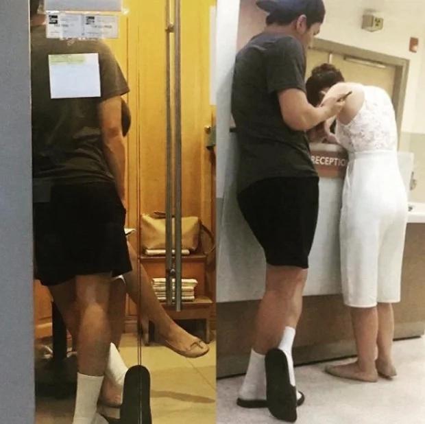 Ronnie Alonte accompanies Julia Barretto to the hospital