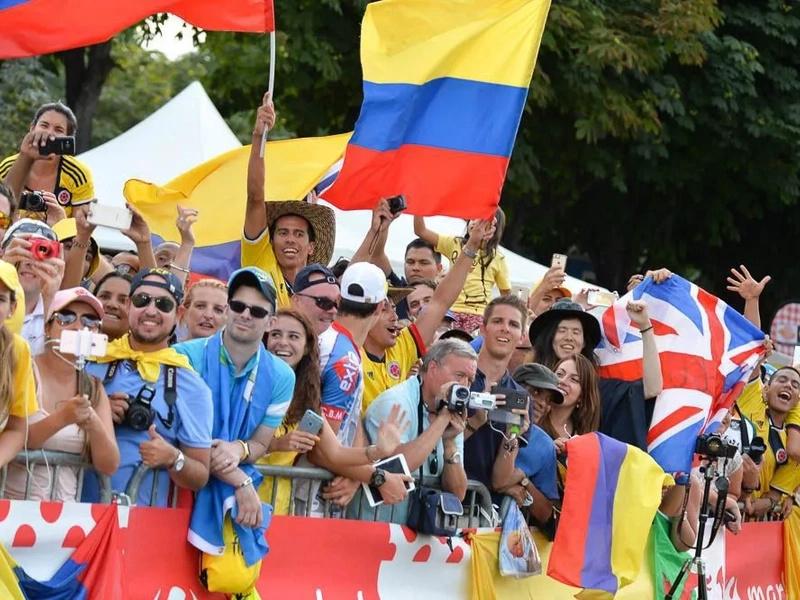 Buen balance para los colombianos en el Tour de Francia