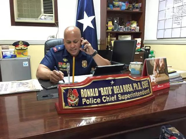 "Ronald ""Bato"" Dela Rosa, named as new PNP Chief"