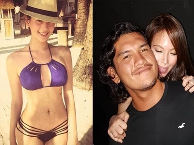 Ellen Adarna and the son of Duterte shared their private photo