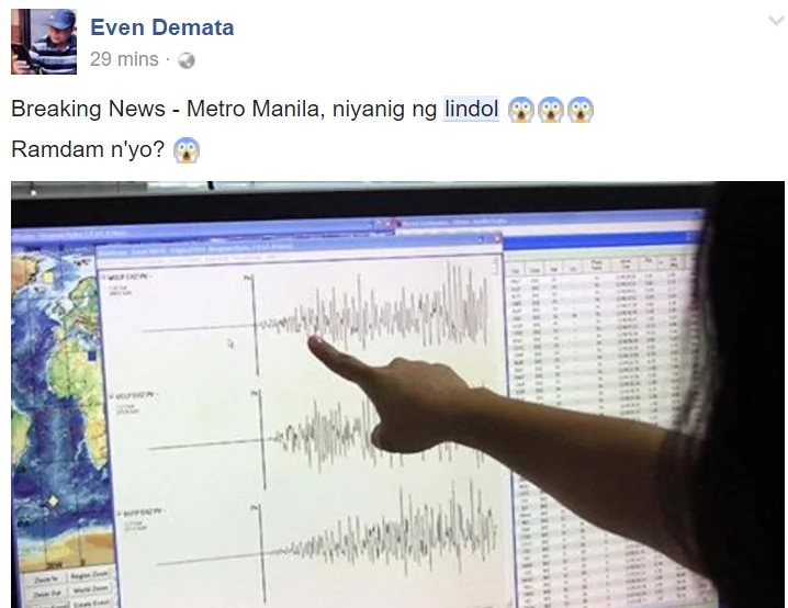 Magnitude 5.4 Earthquake Hits Luzon