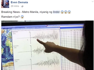 Magnitude 5.5 Earthquake Hits Luzon