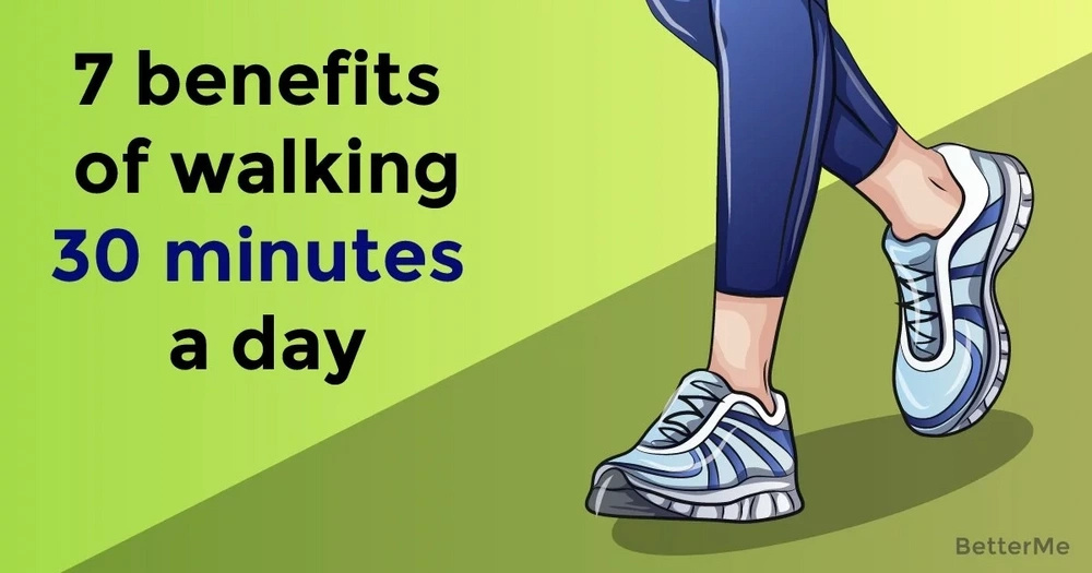 Discover 7 benefits of walking 30 minutes a day