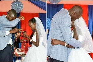KSh 100 wedding couple not going for Dubai HONEYMOON after KSh 3.5M grand wedding