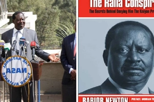 Why is the sale of this book with Raila's secrets being barred before the August poll?