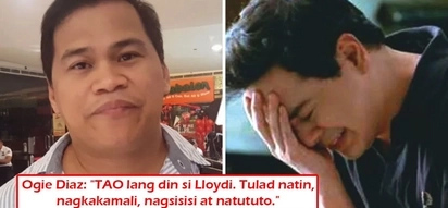 'Niyakap ko si JLC' - Ogie Diaz comforts John Lloyd Cruz during Home Sweetie Home taping after actor suffered serious bashing for controversial video