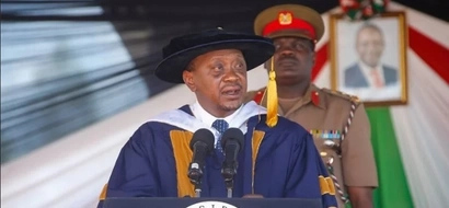 Uhuru goes to Twitter and tells Kenyans what he said about Raila in Kirinyaga... but things turn extremely ugly for him