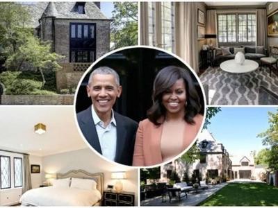 Kina Obama WADONDOA Ksh810 milioni kununua jumba la KIFAHARI Washington DC walikokuwa wakikodisha (picha, video)