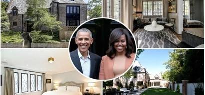 Obamas splurge Ksh810 million to buy POSH Washington DC house they were renting (photos, video)