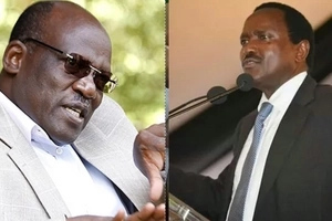 Muthama tries to reconcile with Kalonzo but things turn UGLY for him