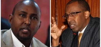 Junet Mohamed, Uhuru's lawyer in fiery exchange over the mass failure in the 2017 KCSE exams
