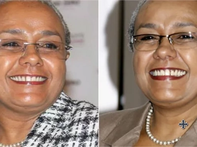 Video surfaces of First Lady Margaret Kenyatta dancing in the SGR train
