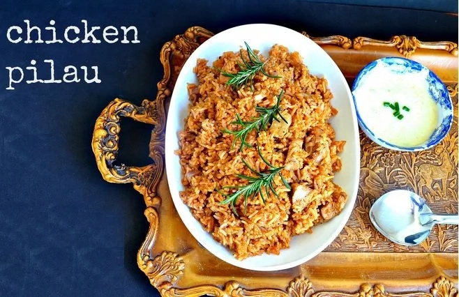 How to cook pilau rice with chicken