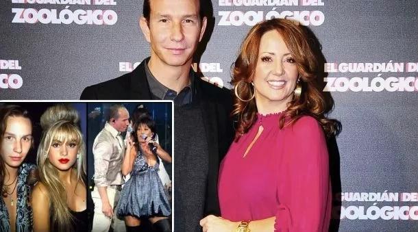 Resulta que Andrea Legarreta no conoció a su esposo por casualidad