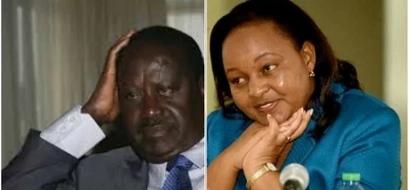 Leave Waiguru alone or we will CURSE you, Raila warned