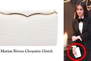 Just like Princess Diana! American designer names a luxurious bag after Marian Rivera