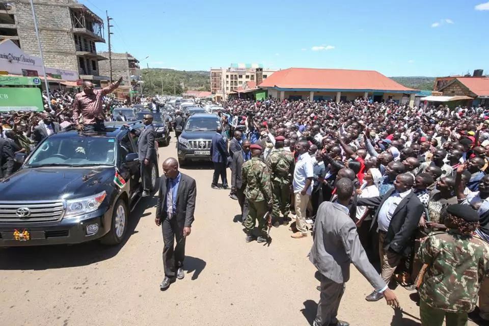 Uhuru, Ruto start 2-day tour of Nakuru, see where they will visit
