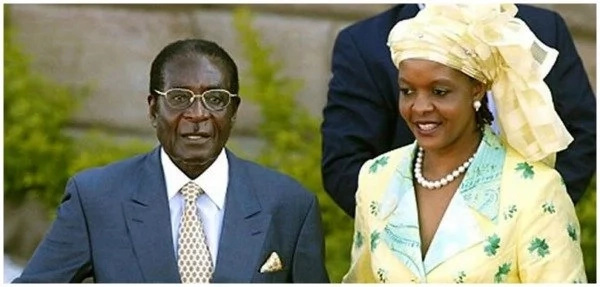 Grace Mugabe declares Robert Mugabe will be on the ballot in 2018 even if he DIES