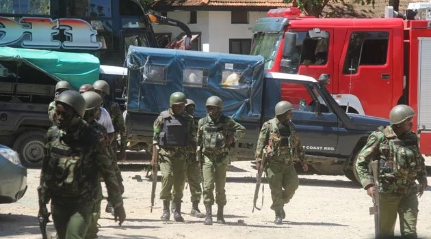 5 officers killed in Kenya Al-Shabaab attack