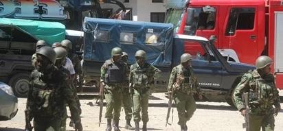Secondary rescue team deployed after 5 Kenyan security officers killed, GSU team ambushed