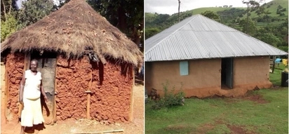 Jubilee MP leads the way in replacing constituents' grass-thatched structures with iron-roofed houses