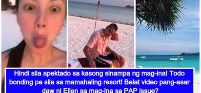 Parang gripo raw ang pera! Ellen Adarna and John Lloyd Cruz enjoy some quality time in a luxurious resort amid PAP issue