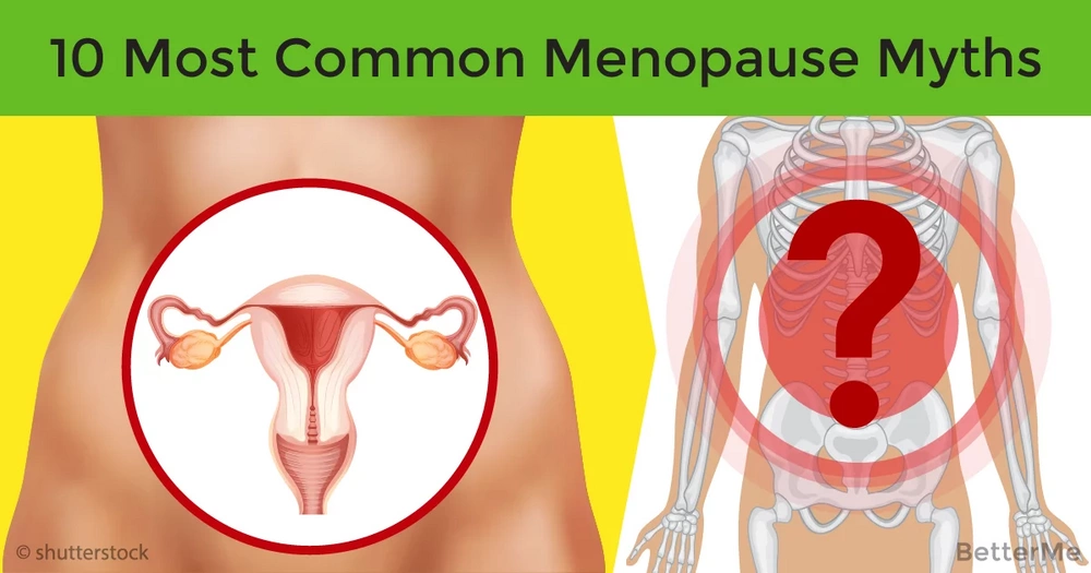 The truth about the 10 most common menopause myths
