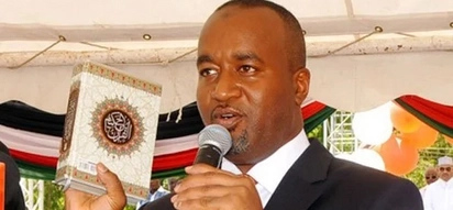 Man said to be Betty Kyalo's brother who was appointed by Joho as county executive speaks