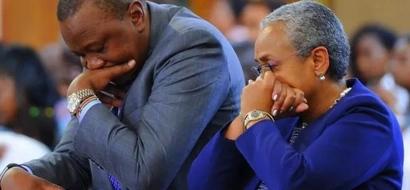 Gospel musician Bahati 'unseats'  President Uhuru Kenyatta (video)