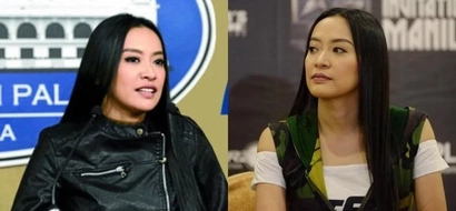 Emotional Mocha Uson gets teary-eyed while swearing her oath as MTRCB board to President Duterte