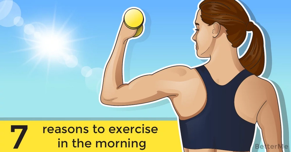 7 reasons to exercise in the morning