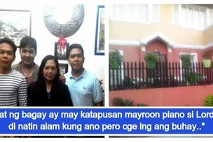 Dream house of a former OFW finally came true, staying for good after 23 years of being away with her children