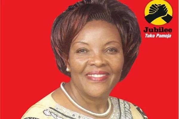 Aliyekuwa mke wa Seneta wa Machakos Johstone Muthama azawadiwa na chama cha Jubilee