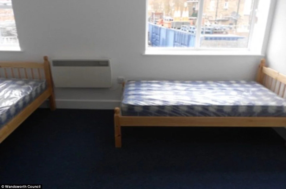 Charities have offered to move them into flats such as this one but they have refused. Photo: Wandsworth Council
