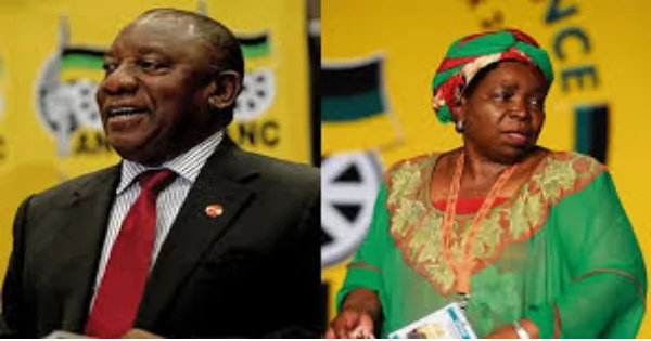 Ramaphosa and Dlamini-Zuma